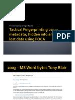 Blackhat Europe 09 Alonso Rando Fingerprinting Networks Metadata Slides