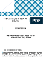 Competition Law in India Ppt