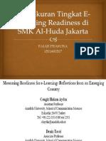 Pengukuran Tingkat E-Learning Readiness Di SMK Al-Huda Jakarta