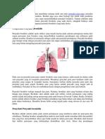 Cara Cepat Menyembuhkan Penyakit Bronkitis