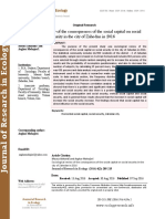 Sociological review of the consequences of the social capital on social security in the city of Zahedan in 2016