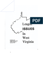 League Issues in West Virginia