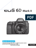 EOS 6D Mark II Instruction Manual IT