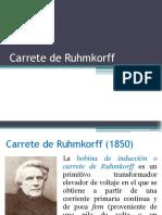 Carrete de Ruhmkorff