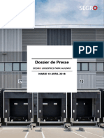 SEGRO Logistics Park Aulnay Dossier Presse 10.04.2018