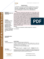 A study on comparing D1557 and D4718 ASTM standard tests to select the appropriate criteria for controlling the crust compaction of Herat earthen dam and evaluating the results of test embankment