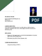 Hrushi CV
