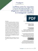 Luckerhoff -Los Conflictos Entre Los Requisitos de La Teoria Fundamentadapdf