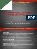 Caracterizacion Del Macizo Rocoso y Clasificacionn Geomecanica