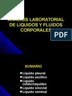 Analisis Clinicos de Liquidos y Fluidos Corporales