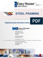 Steel Framing - Perfilería Easy House 2015