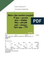 Math Puzzel