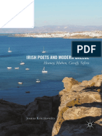 Joanna Kruczkowska - Irish Poets and Modern Greece _ Heaney, Mahon, Cavafy, Seferis (2017, Palgrave Macmillan)