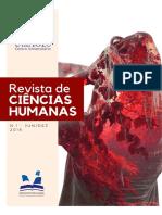 Capa - Ciências Humanas
