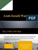 Arab Israeli War - Japee's report