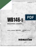 Wb 146-5 Manual de Partes d6t