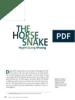 horse snake