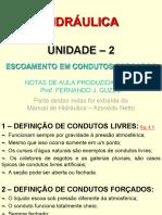 UNIDADE 2 - CONDUTOS FORÇADOS - ALUNOS 2018.pdf.pdf