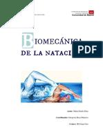 BIOMECÁNICA DE LA NATACIÓN