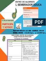 Elecciones Centro de Alumnos 218