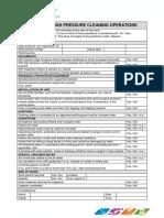 Checklist HP 2011