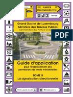 Pdv t2 Signalisation Directionnelle