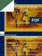Reforma Fiscal 2008 Hlb Sonora