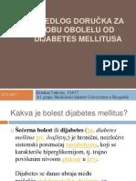 Predlog Doručka Za Osobu Obolelu Od Dijabetes Mellitusa