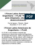 Forum FLAE-Prof LuisEvelio