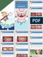 Folheto Omd Ortodontia