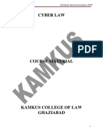 CYBER LAWS  - Smart Notes