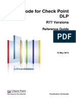 CP R77 CPcodeDLP ReferenceGuide