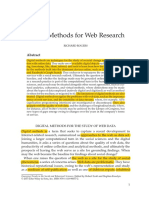 Digital Methods x Web Research