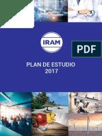 IRAM Plan Estudio 2017