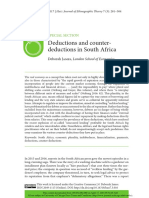 Deductions and Counterdeductions in South Africa
