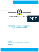 2017 Employer Guidebook Let - EMPLOYMENT INCOME, KISUDA AS