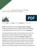 Candi – Wikipédia, A Enciclopédia Livre