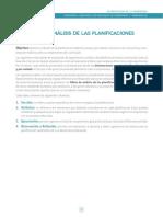III. Pautas de Análisis de Las Planificaciones
