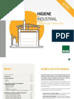 Manual de Riesgos y Medidas de Control y Prevención en La Operación de Cámaras de Fumigación