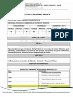 PLANO Hidráulica Ambiental e Recursos Hídricos 2017_1