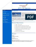 CAE Parc Aviation Ethiopian Airlines - B777 Captain - Terms and Conditio...