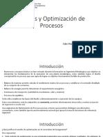 Análisis y Optimización de Procesos-Introducción