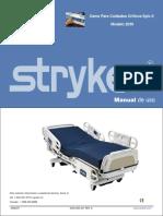 Manual de Operación Cama Stryker Epic II