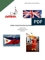Jollibee Final Paper