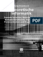 Hromkovic - Theoretische Informatik