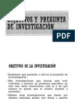 Objetivos de Investigacion