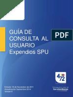 Guia Usuario Septiembre 2014 Expendios Spu