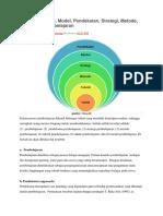Perbedaan Teori, Model, Pendekatan, Strategi, Metode, Dan Teknik Pembelajaran