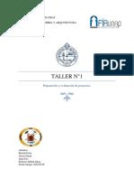 Taller 1 Proyectos