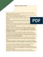 30 RESUMEN Analisis Del Grito Manso de Paulo Freire